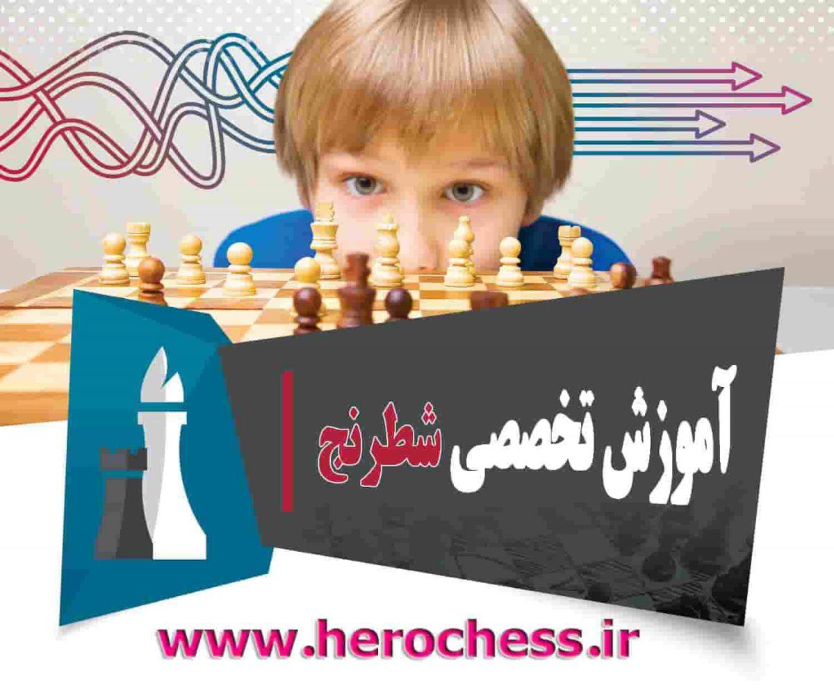 آموزش آنلاین شطرنج پایه تا پیشرفته